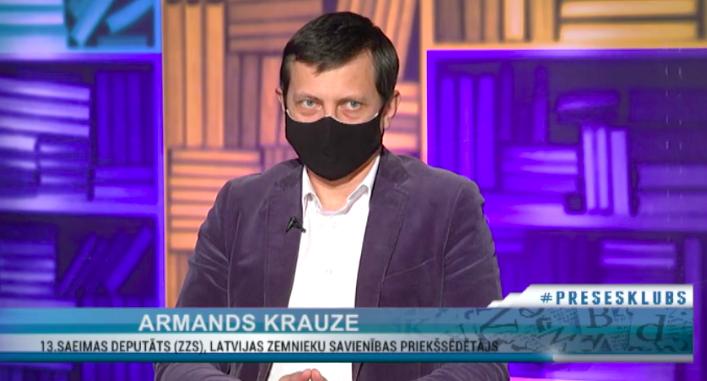 LZS priekšsēdētājs Armands Krauze piedalījās RigaTV24 raidījumā