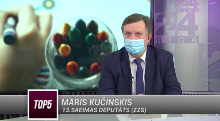 Māris Kučinskis raidījumā