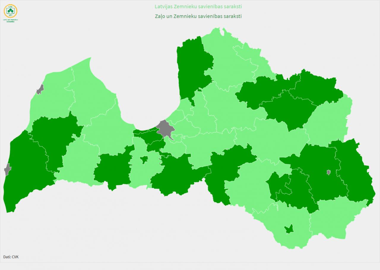 Latvijas Zemnieku savienība ir visā Latvijā!