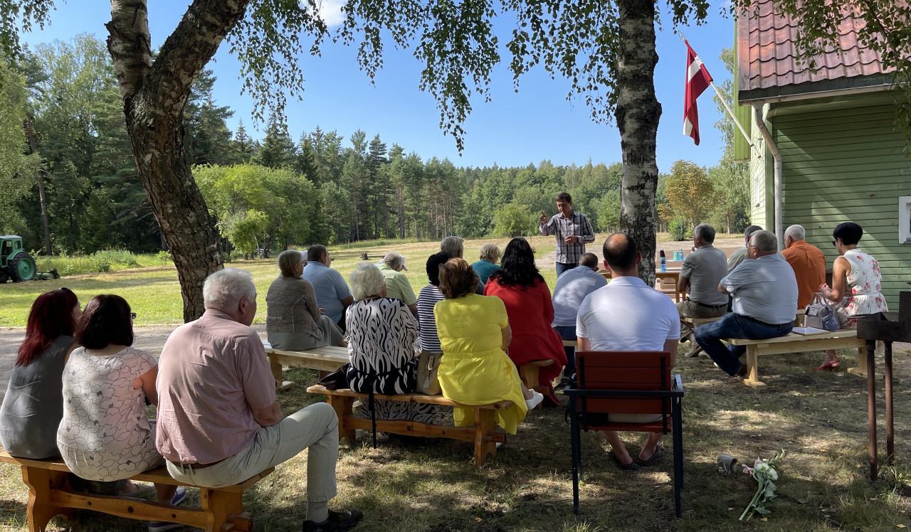 Notika Latvijas Zemnieku savienības Kurzemes biedru tikšanās