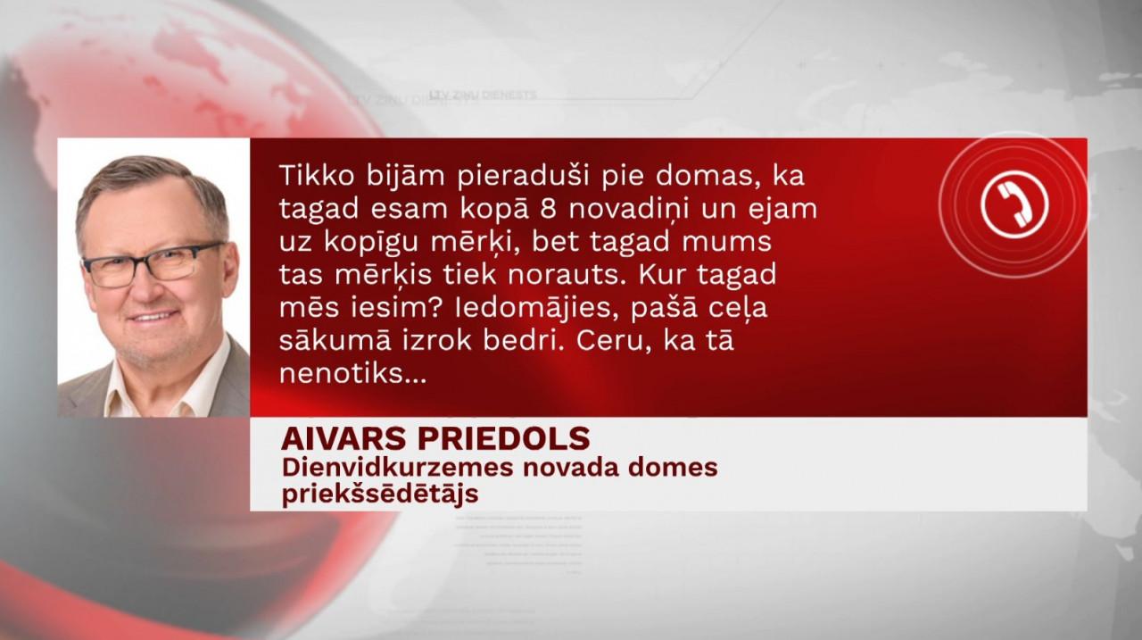 Dažādo prioritāšu dēļ Dienvidkurzemes novada un Liepājas pašvaldību pārstāvji apvienoties nevēlas